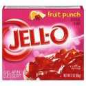 JELLO GELATINA SABOR FRUIT PUNCH