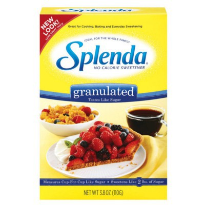 SPLENDA SWEETENER NO CALORIE GRANULATED