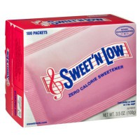 SWEET'N LOW SWEETENER ZERO CALORIE (100 packets)