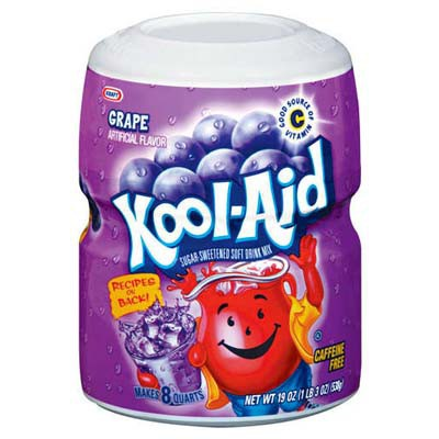KOOL-AID BARREL GRAPE