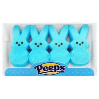 PEEPS 4 MARSHMALLOW BLUE BUNNIES