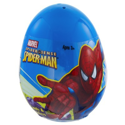 SPIDER-MAN SURPRISE EGG WITH CANDY & STICKERS