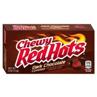 FERRARA CHEWY RED HOTS DARK CHOCOLATE COVERED