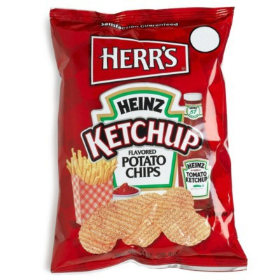 HERR'S KETCHUP POTATO CHIPS