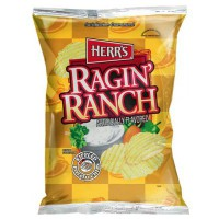 HERR'S RAGIN' RANCH PATATAS CHIPS