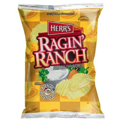 HERR'S RAGIN' RANCH POTATO CHIPS