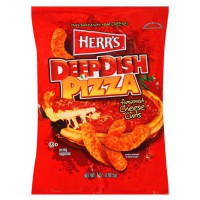 HERR'S DEEP DISH PIZZA CHEESE CURLS CHIPS