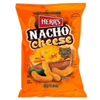 HERR'S NACHO CHEESE CURLS CHIPS