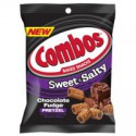 COMBOS SWEET & SALTY CHOCOLATE FUDGE PRETZELS