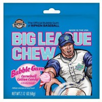 BIG LEAGUE CHEW BUBBLE GUM COTTON CANDY