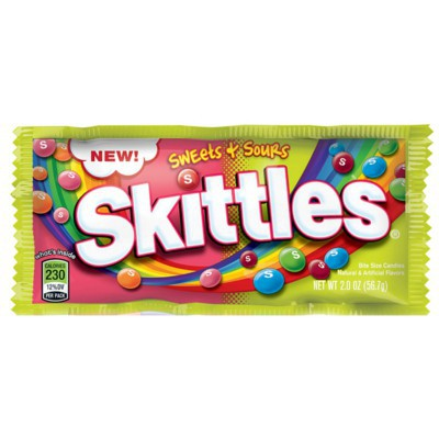 SKITTLES SWEETS & SOURS