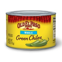 OLD EL PASO WHOLE GREEN CHILES