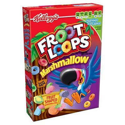 CLEARANCE - KELLOGG'S FROOT LOOPS WITH MARSHMALLOWS