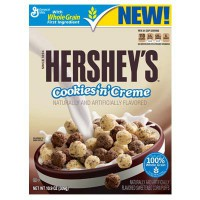 GENERAL MILLS CEREALI HERSHEY'S COOKIE AND CREME