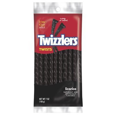 HERSHEY'S TWIZZLERS BLACK LICORICE TWISTS