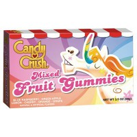 CANDY CRUSH MIXED FRUIT GUMMIES BOX