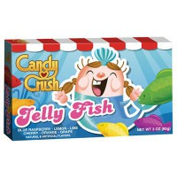 CANDY CRUSH JELLY FISH BONBONS GÉLIFIÉS POISSONS