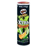 PRINGLES EXTREME SCREAMIN' DILL PICKLE CHIPS