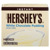 HERSHEY'S INSTANT PUDDING MIX WHITE CHOCOLATE
