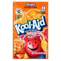 KOOL-AID ORANGE UNSWEETENED SOFT DRINK MIX
