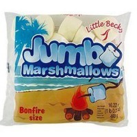 LITTLE BECKY MARSHMALLOWS WHITE JUMBO
