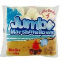 LITTLE BECKY GÉANTS CHAMALLOWS BLANCS JUMBO