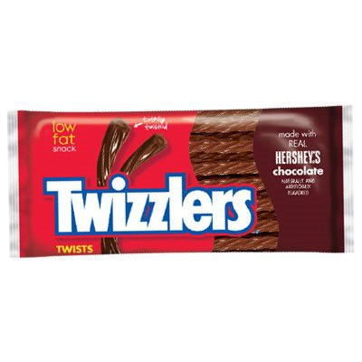 HERSHEY'S TWIZZLERS CHOCOLATE TWISTS