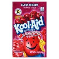 KOOL-AID BLACK CHERRY UNSWEETENED SOFT DRINK MIX