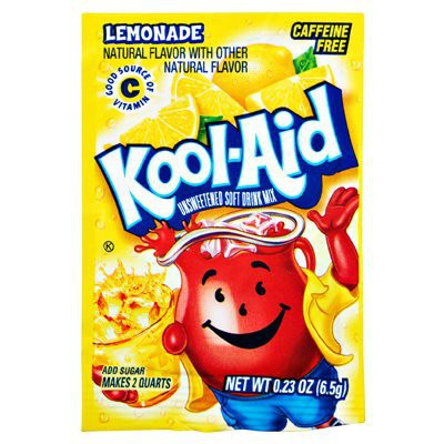 KOOL-AID LEMONADE UNSWEETENED SOFT DRINK MIX