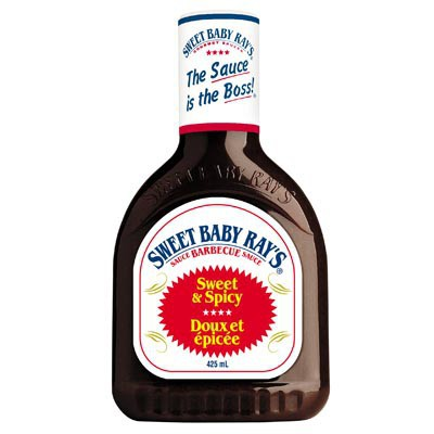 SWEET BABY RAYS SWEET & SPICY BBQ SAUCE