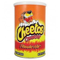 CHEETOS CRUNCHY FLAMIN' HOT CANISTER