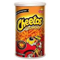 CHEETOS CRUNCHY DE QUESO CANISTER