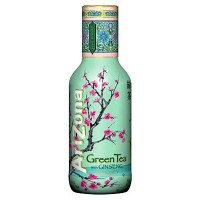 ARIZONA ICED TEA GREEN & GINSENG HONEY BOTTLE