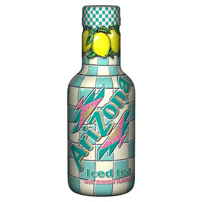 ARIZONA ICED TEA LEMON BOTTLE