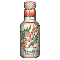 ARIZONA ICED TEA PEACH BOTTLE