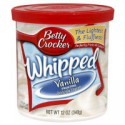 BETTY CROCKER GLASSA WHIPPED VANIGLIA