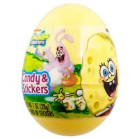 SPONGEBOB SURPRISE EGG WITH CANDY & STICKERS
