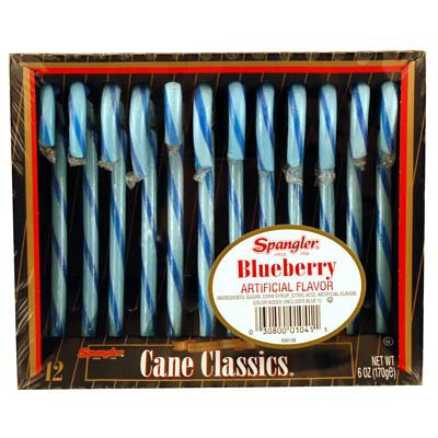 CANDY CANES BLUEBERRY 12-stick box