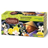 CELESTIAL SEASONINGS SLEEPYTIME GREEN TEA LEMON JASMINE