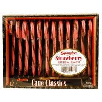 CANDY CANES STRAWBERRY 12-stick box