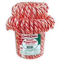 CANDY CANES MENTA ROSSI BIANCHI VASO (60)