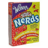 WONKA NERDS MINI CARAMELOS CEREZA MELÓN