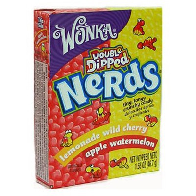 WONKA NERDS LEMONADE CHERRY-APPLE WATERMELON