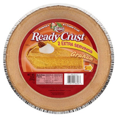 CLEARANCE - KEEBLER READY CRUST GRAHAM CRACKER PIE