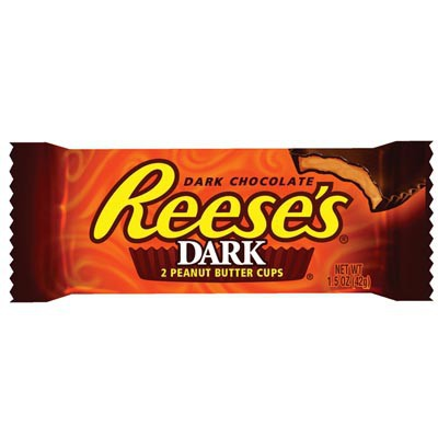 REESE'S 2 PEANUT BUTTER CUPS DARK CHOCOLATE