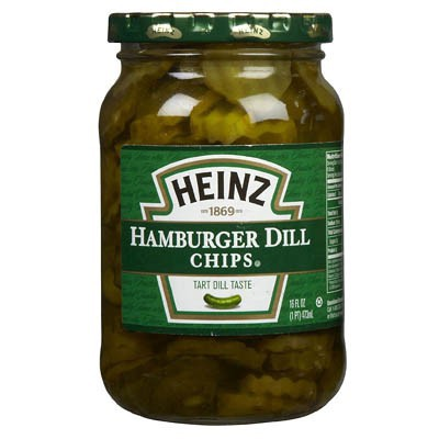 HEINZ HAMBURGER DILL CHIPS / SLICES