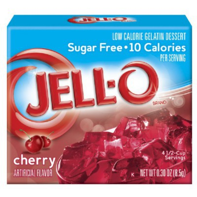 JELLO SUGAR FREE CHERRY