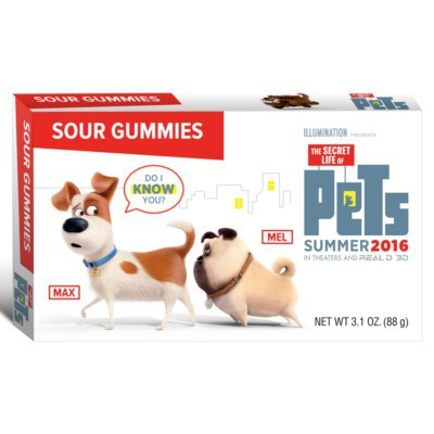 THE SECRET LIFE OF PETS SOUR GUMMIES