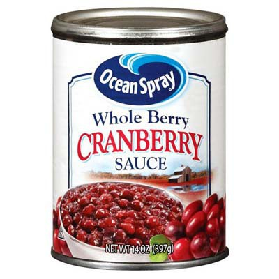CLEARANCE - OCEAN SPRAY CRANBERRY SAUCE / WHOLE BERRY