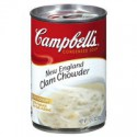 CAMPBELL'S NEW ENGLAND CLAM CHOWDER SOUP
